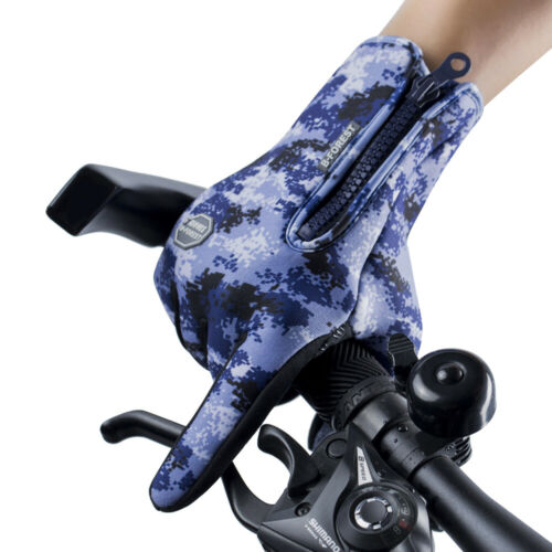 Mens Winter Gloves Thermal Waterproof Touchscreen Gloves Warmer Cycling Gloves