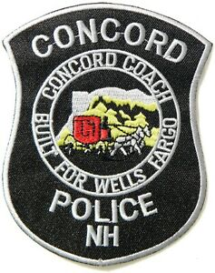 CONCORD NEW HAMPSHIRE NH POLICE PATCH
