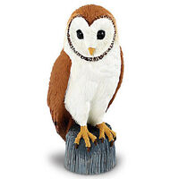 Barn Owl Wings Of The World Birds Figure Safari Toys Animals Collect