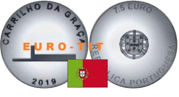7,50 Euro Portugal 2019 Carrilho Da Graca 2019 Nouveau 2019 MatéRiaux De Qualité SupéRieure