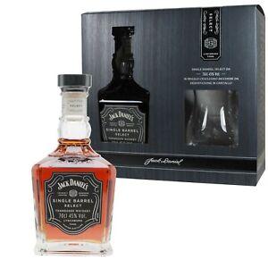 JACK DANIEL'S WHISKEY SINGLE BARREL SELECT Daniels Whisky + CALICE DEGUSTAZIONE