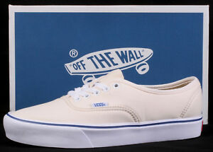 2faf73107caffd Vans Authentic  66 Lit Schoeller Classic White Lightweight Shoes ...