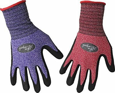 Home & Garden Boss Manufacturing 8444s 656729 Guardian Angel Dotted Nitrile Palm Knit Wrist As Business & Industrial