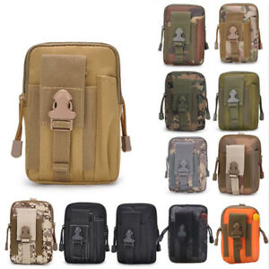 Tactical Molle Waist Bag Pouch Handbags Belt Backpack Military Mini Phone bag