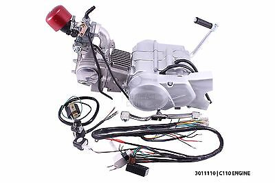 New 110cc complete engine to fit Honda C50 C65 C70 Chaly