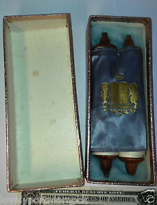 Image Is Loading Vintage Miniature Tiny TORAH Scroll Old Testament In