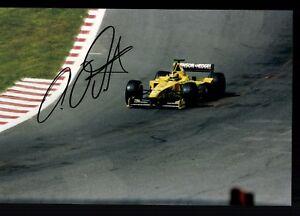 Heinz-Harald-Frentzen-Foto-Original-Signiert-Formel-1-G-18631