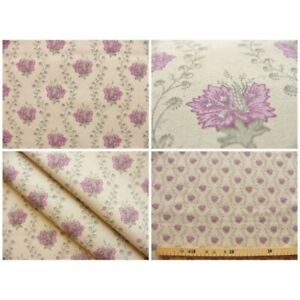 Coupon-fabric-by-50cm-suza-purple-beige-background