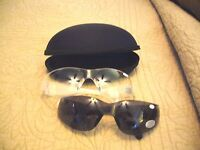 Safety Glasses W/ Bifocal Readers W/ Free Case Gr8 4 Reading Prints On The Job