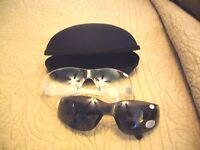 Safety Glasses W/ Bifocal Readers & Free Case Great 4 Reading Prints On The Job