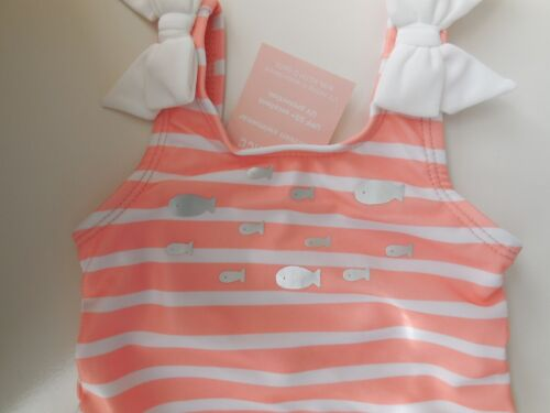 ADORABLE GYMBOREE BABY GIRL ONE PCE BATHERS SWIMSUIT SIZE 00 FITS 3-6M *NEW