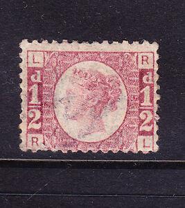 GB QV 1870 1/2d rose-red SG48 plate 5 u/m - little off-centre cat £110 as m/m