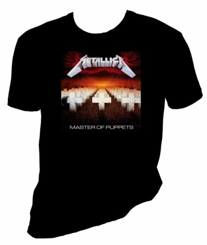 court ou long manche tailles S-6x METALLICA Master of the Puppets T Shirt