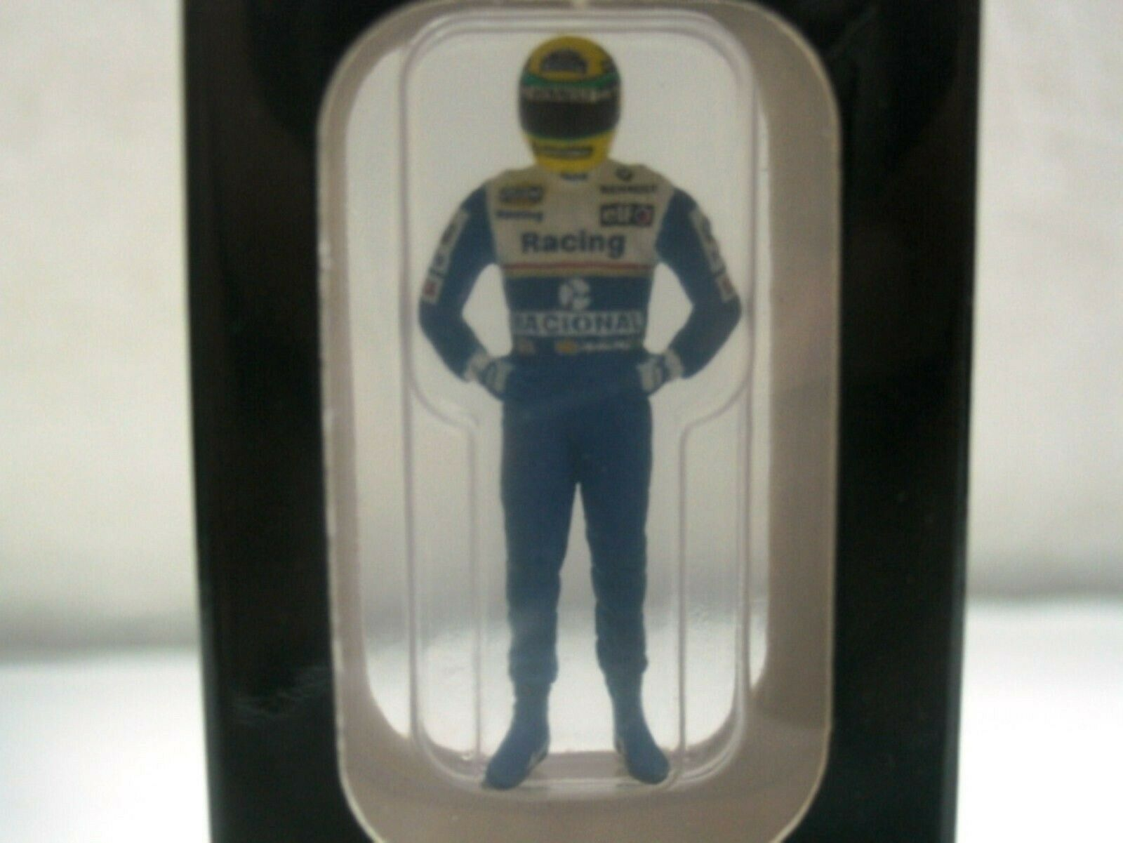 WOW EXTREMELY RARE Williams FW16 Renault Figure A Senna 1994 1 43 Minichamps