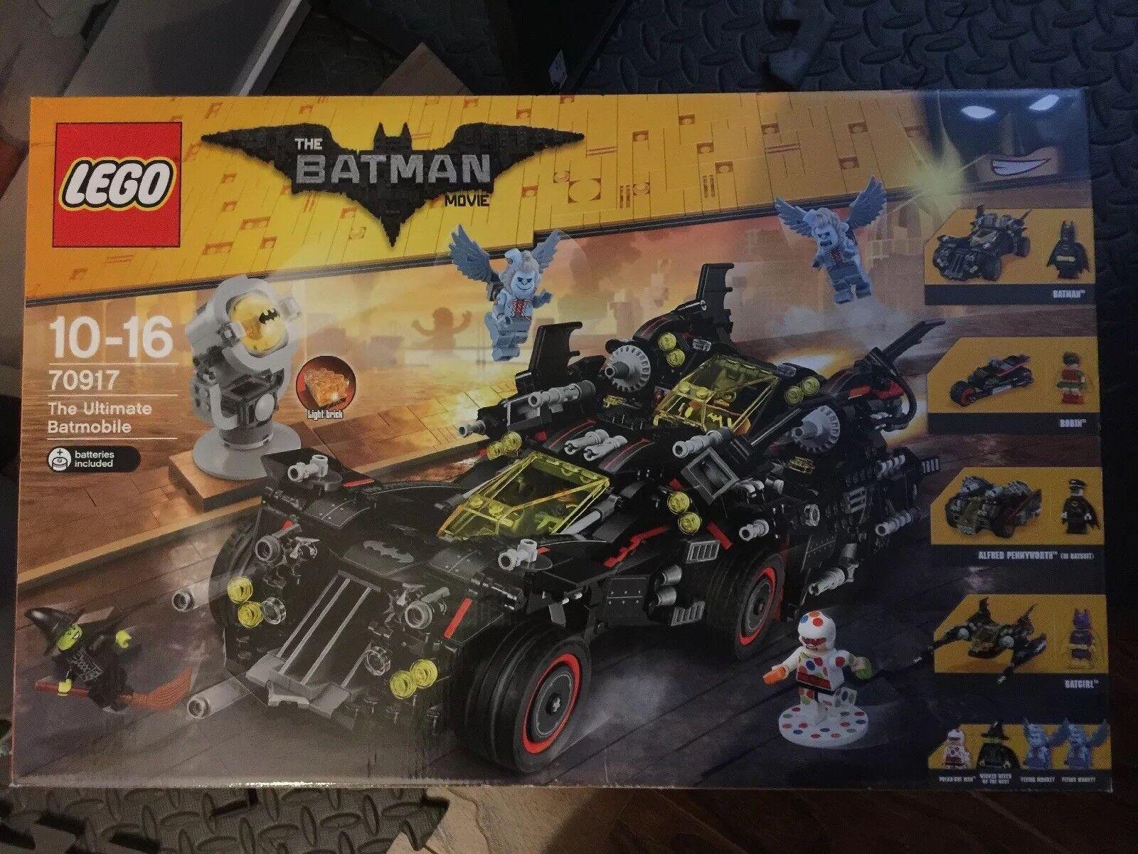 The LEGO Batman Movie The Ultimate Batmobile 70917 New Retired Set