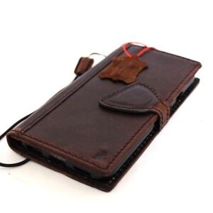 genuine-vintage-leather-case-for-Google-Pixel-book-wallet-cover-magnet-brown-new