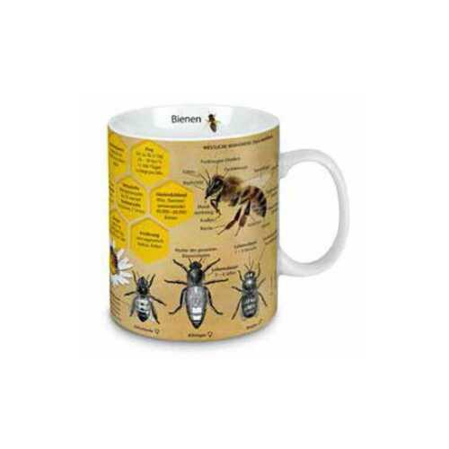 Bienen Wissensbecher Kaffeebecher Könitz Tasse Jumbo 0,46 l