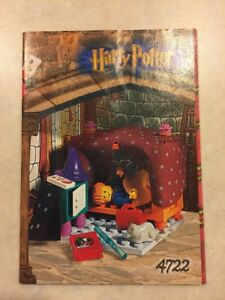 INSTRUCTIONS-ONLY-LEGO-GRYFFINDOR-4722-Harry-Potter-Manual-Book