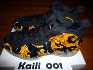 46d0a56a74bf7 Nike Air Foamposite 1 Supreme SP Size 12 Worn Black Used 652792-001 ...
