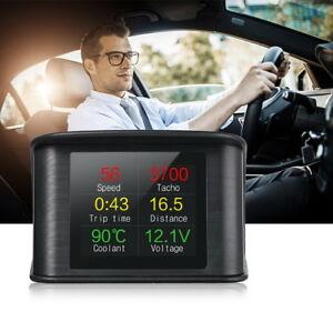 Affichage-tete-haute-Compteur-d-039-alerte-Voiture-hud-OBD-2-P10-2-2-Zoll-HD-speed
