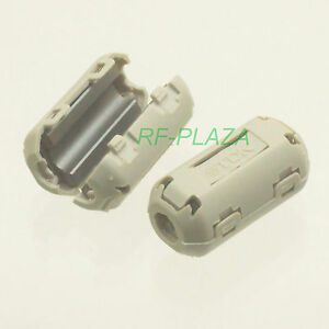 6x-TDK-Gray-A-9mm-Cable-Clamp-Clip-RFI-EMI-EMC-Noise-Filters-Ferrite-Core-Case