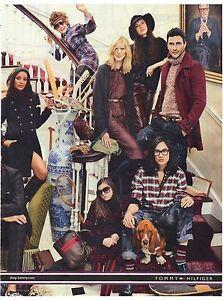 PUBLICITE ADVERTISING 2011   TOMMY HILFLIGER VETEMENTS habille toute la famille
