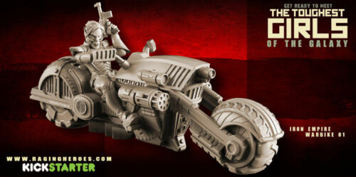 équipe Iron Warbikes Pour Empire 3760210024315 Nib De Raging Heroes Combat Bikers 24315 Motards xZpSwSUqX