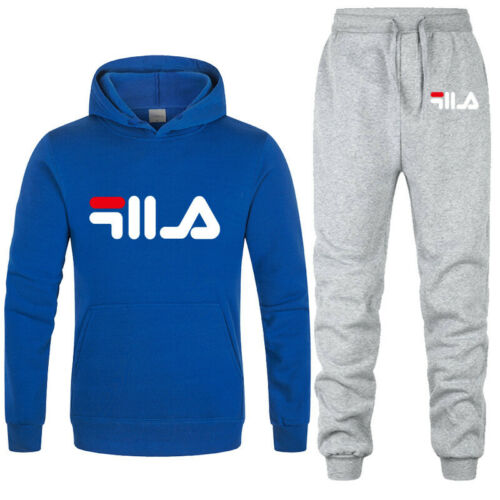 Winter Men Tracksuit Hoodies Pants 2Piece Fitness Jogging training Sports Suit