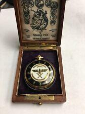 Longines NAZI Pocket Watch 18 K Gold