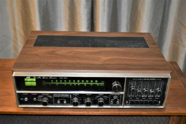 JVC  VR5551 AM-FM STEREO 1970'S  Receiver TURNTABLE INPUT BY WESTERN AUDIO