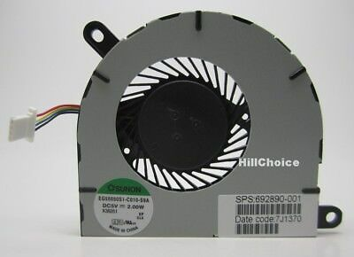 NEW for HP Envy SpectreXT 13 XT 13 CPU cooling fan 692890-001 EG50050S1-C010-S9A
