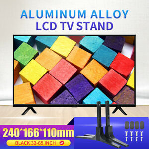 Adjustable-Universal-TV-Stand-Table-Top-Mount-Base-LCD-Flat-Screen-32-65inch