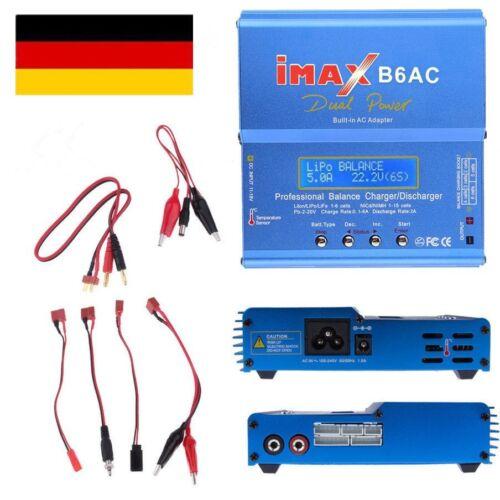 IMax B6AC B6 V2 Netzteil Ladeger?t Lipo NiMh LiFe Batterie Balance Charger D4