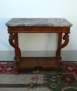 Consolle-Luigi-Filippo-XVIII-secolo-con-marmo-di-Francia-del-1700