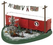 37942 Lionel Christmas Hobo Hotel NEW in Box 027 size