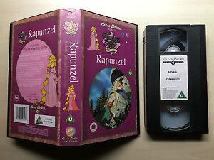 RAPUNZEL-TIMELESS-TALES-HANNA-BARBERA-VHS-VIDEO