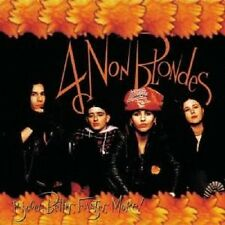 "4 NON BLONDES ""BIGGER,BETTER,FASTER,MORE!"" CD NEUWARE"