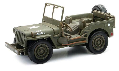 AK Sport 0301005 1:32 Scale Newray Military Jeep