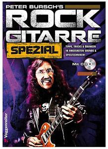Peter-Bursch-039-s-Rock-Gitarre-Spezial-CD-1-Sharkfin-Plec-weiss