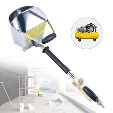 Stucco Sprayer Cement Mortar Spray Gun Hopper 4 Jet Concrete Stucco Plaster Tool