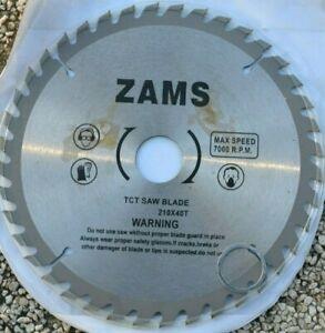 LAME DE SCIE CIRCULAIRE 210 mm 40 DENTS