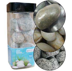 Aqua Range Polished Aquarium Decor Stones Replica BiOrb Polished Stones