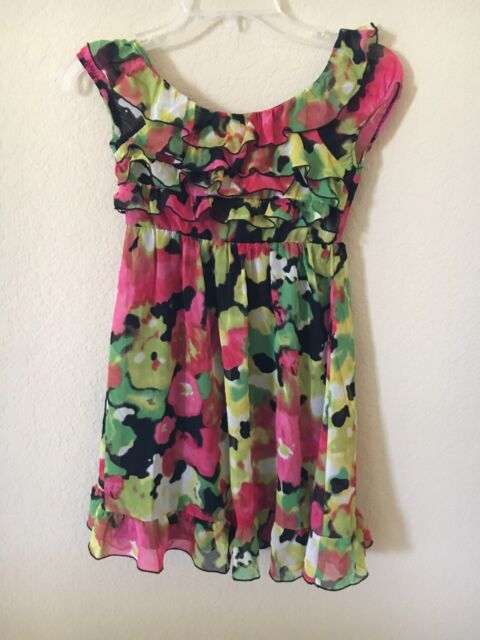 Paper Doll Girls Floral Dress Size 8