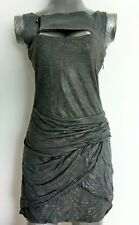 DIESEL rushed Mini Dress size XS wet look --BRAND NEW--