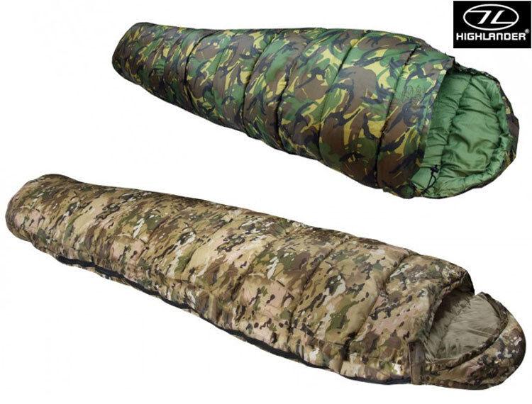 Army Combat Military Cadet Mummy Camping Travel Sleeping Bag British Camo DPM