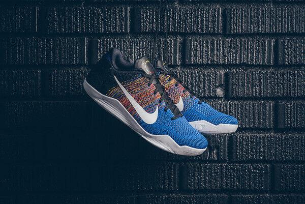 Nike kobe xi elite bhm dimensioni nero history month 822522 - x 10 ext - 9