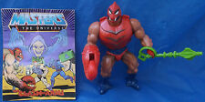 Masters Of The Universe Clawful Figure Complete + Weapon Mini Comic MOTU Mattel