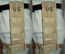 MOLLE DROP LEG EXTENDER TACTICAL THIGH RIG KNIFE HOLSTER IFAK USGI DCU SET of 2