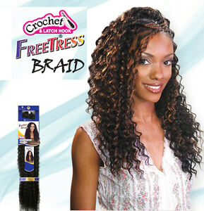 Image is loading Freetress,Premium,Synthetic,Hair,Braid,Crochet,Deep,Twist,