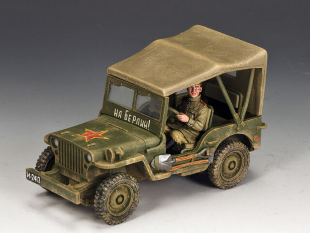 RA030 Lend-Lease Russian Jeep RETIRED by King & Country